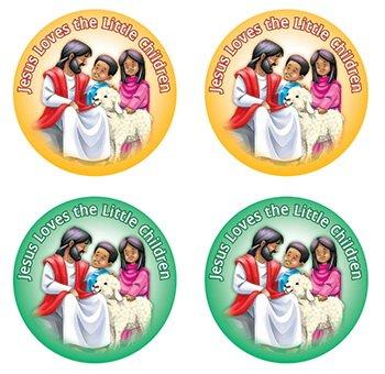 Flash Kostüm Karte - JESUS LOVES THE LITTLE CHILDREN