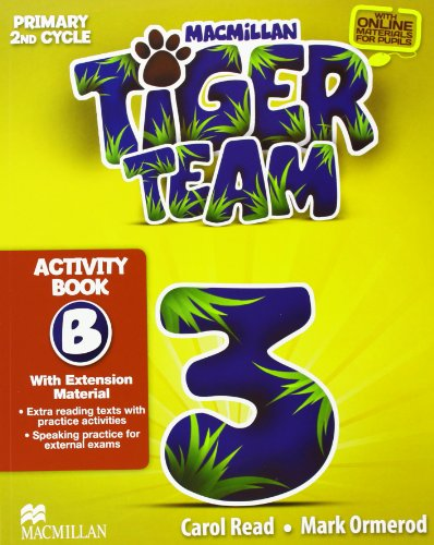 TIGER 3 ACTIVITY BOOK B PACK