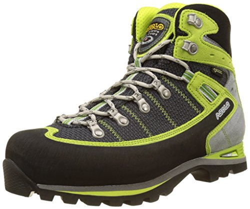 Asolo Shiraz GV Mm Botas, Hombre, Negro/Verde (Green Lime),11UK