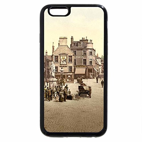 iPhone 6S / iPhone 6 Case (Black) citiscapes and castles