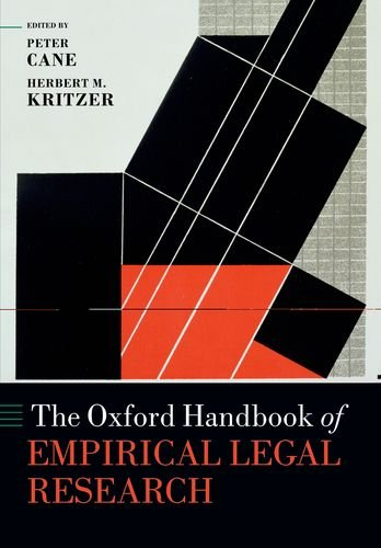 The Oxford Handbook of Empirical Legal Research (Oxford Handbooks in Law)