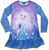Frozen Kollektion 2017 Nachthemd Die Eiskönigin 98 104 110 116 122 128 Neu Nachtkleid Nachtrobe Disney Anna und Elsa Fliederblau