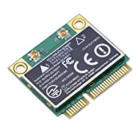 Biuzi Network Card 1Pc 2.4G/5Ghz Smart Dual Band WIFI Card 433Mbps WIFI Mini PCI-E Wireless Card Compatible for Windows 7/10 4.2 Bluetooth Smart