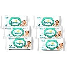 Pampers - Sensitive - Toallitas húmedas - 6 x 56 toallitas