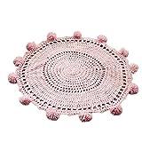 xel_uu.11 Alfombra tejida a mano de punto alfombra alfombra alfombra de suelo decoración del hogar manta de crochet para bebé niños