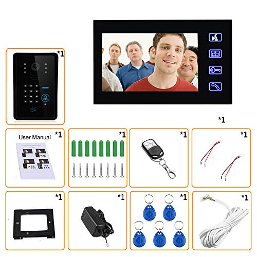 Remote-access-system (Video Doorbell, Waterproof Wired Doorbell, 7