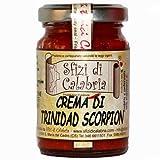 Trinidad Scorpion Moruga Rosso Red in Crema, Patè di Peperoncino Piccante Estremo 2°posto nel Guinness World Record VASO VETRO 90g