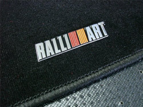 ralliart-black-floor-mats-carpet-rug-5-pc-piece-set-jdm-for-mitsubishi-lancer-evo-evolution-8-9-viii