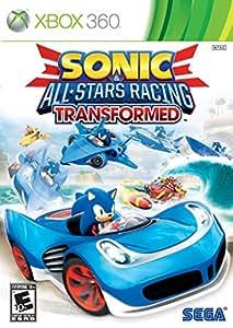 SEGA Sonic & All-Stars Racing Transformed - video games (Xbox 360, Racing, E (Everyone), ENG)
