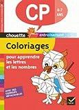Chouette - Coloriages pour apprendre les lettres et les chiffres CP