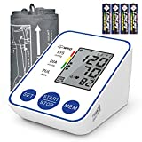 Upper Arm Blood Pressure Monitor with Large LCD Display,Digital Automatic Home Use Measure