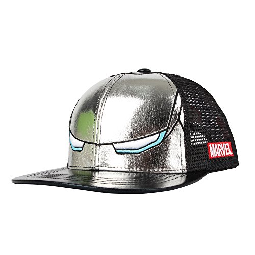 WITHMOONS Baseballmütze Mützen Caps Marvel Avengers Iron Man Snapback Hat Mesh Cap...