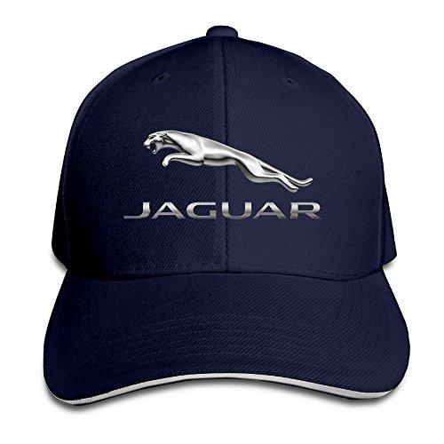 huseki-mkcook-unisex-jaguar-logo-adjustable-sandwich-peaked-baseball-caps-hats-navy