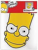 Máscara de cartón para fiestas Los Simpsons - Bart