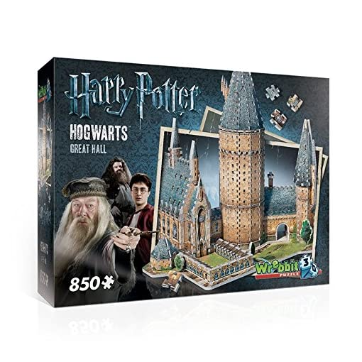 Hogwarts-Great-Hall-3D-Puzzle-850-Pieces Hogwarts Great Hall 3D Puzzle – 850 Pieces -