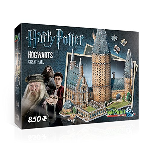 Potter Harry Blue (Wrebbit 3D W3D-2014 - Hogwarts Große Halle, Harry Potter, 3D-Puzzle)