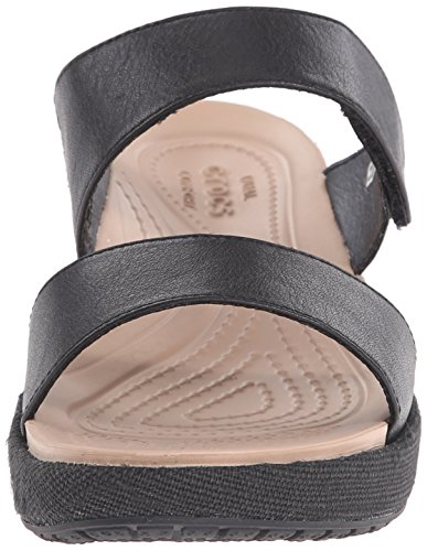 Crocs, Sandali donna Black/black