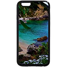 iPhone 6S Plus Case, iPhone 6 Plus Case, lovely remote cove surrounded by flowers