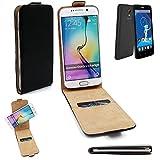 K-S-Trade Für Haier Phone L52 Flipstyle Schutz Hülle 360° Smartphone Tasche, schwarz, Case Flip Cover für Haier Phone L52