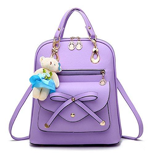 ANNE , Damen Rucksackhandtasche rosa Rose-carmine violett