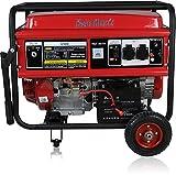 KRAFTHERTZ® Benzin Stromerzeuger Generator 5500 Watt ( 5,5 kW ) (Benzin 5,5 kW...