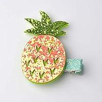 lianji Pailletten Ananas Wassermelone Popsicle Kuchen Haarnadel Haar Zubehör Side Clip Haarspange für kleine Mädchen (Ananas)
