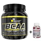 Olimp BCAA Mega Caps 1100, 2 x 300 Kapseln, (2 x 387 g)