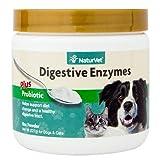 Naturvet Verdauungsenzyme Und Probiotika Gesunde Verdauung Für Hunde Und Katzen 236 Ml