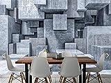 Papel Pintado Pegatinas De Pared Mural De Pared 3D Para Paredes Sala De Estar Pintura De Pared Acuarela Piedra Geométrica Gris @ 350 * 245Cm
