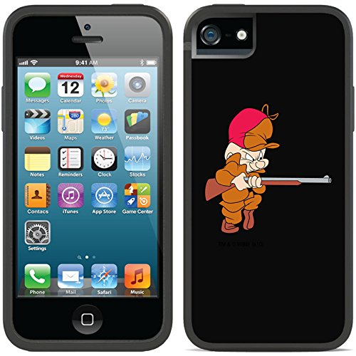coveroo-iphone-5-5s-black-switchback-case-with-elmer-fudd-sneaking-design