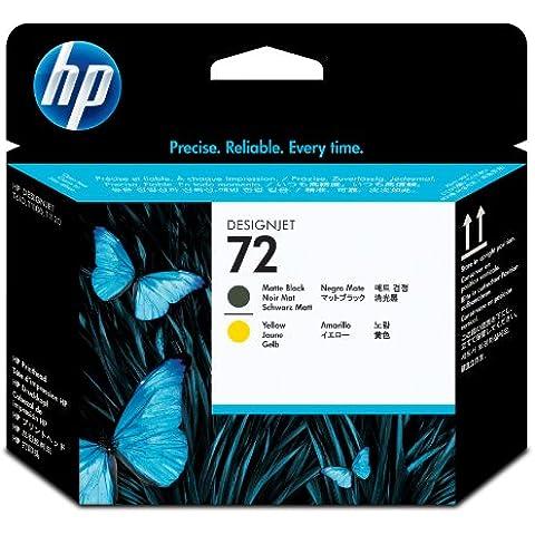 HP C9384A - Cartucho de tinta, negro mate y amarillo