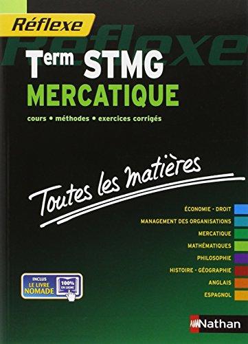Toutes les matires Term STMG Mercatique