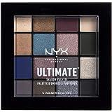 NYX Professional Makeup Palette Ombretti Ultimate Shadow Palette, Pigmenti Pressati, 16 Tonalità, Effetto Opaco, Satinato, Me