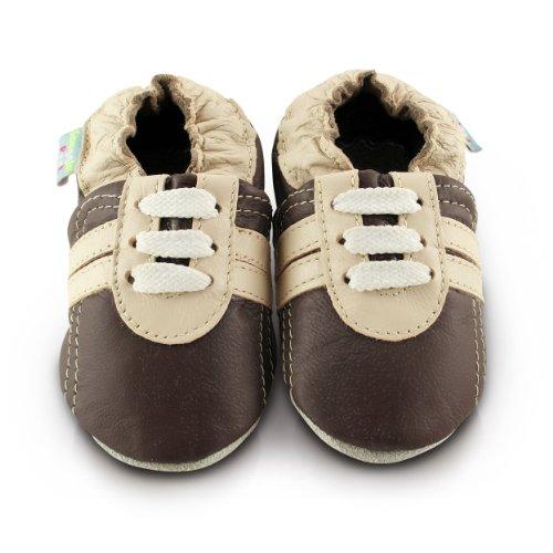 snuggle-feet-chaussons-bebe-en-cuir-doux-baskets-marrons-6-12-mois