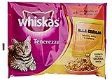 Whiskas Tenerezze Carne Grigliata, 4x85 gr