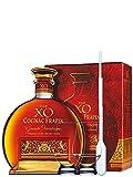 Frapin Cognac V.I.P XO 0,7 Liter + 2 Glencairn Gläser und Einwegpipette