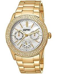 Esprit Damen-Armbanduhr peony Analog Quarz ES103822012 Gold