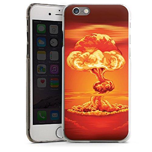 Apple iPhone 5s Housse Étui Protection Coque Explosion Guerre Champignon nucléaire CasDur transparent