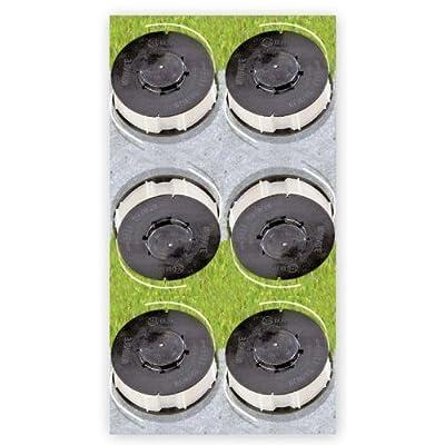 6 x Ersatzfadenspule Gardenline Trimmer Einhell ALDI von Einhell