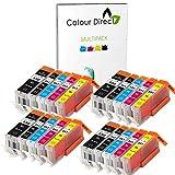 20 XL ( 4 Sets) Colour Direct Compatible Cartouches d'encre compatibles Remplacement...