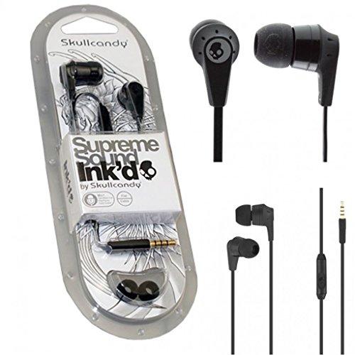 Skullcandy-IN-EAR-Supreme-Sound-Bass-Headphones-Inkd-20-Earphone-Headset-WMIC-Full-Black-Colour