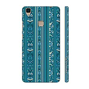 Enthopia Designer Hardshell Case India Blues Back Cover for Vivo V3