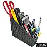#6: Bright Enterprise Multipurpose stand Table or Desk organizer pen stand, Remote stand, Knife stand, Spoon stand, pencil stand etc