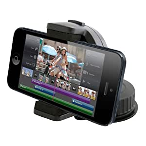 Decrescent Universal Case with 360 Degree Rotation Windscreen In Car Mount for Apple iPhone 3GS/4/4S/5/iPod Touch 2G/3G/4G/5G