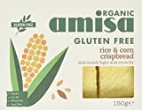 Amisa Organic Crispbread Rice and Corn 150g (Pack of 6)