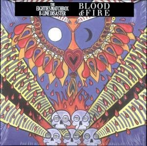 BLOOD AND FIRE LP (VINYL) UK BLACK 2010 -