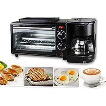 Máquina Multifuncional De Desayuno para Desayunos Cafetera Horno Mini Buffet 3 En 1 Máquina De Desayuno