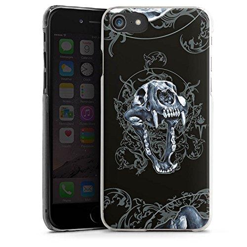 Apple iPhone X Silikon Hülle Case Schutzhülle Puma Totenkopf Pumakopf Hard Case transparent