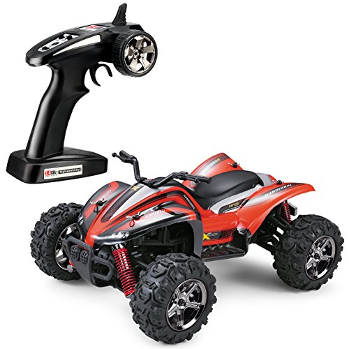 TOZO reg; C1151 RC CAR HURRICRNE High Speed 32MPH 4x4 Fast Race Cars1:24 RC SCALE RTR Racing 4WD ELECTRIC POWER BUGGY W/2.4G Radio Remote control Off Road motorcycle Powersport red