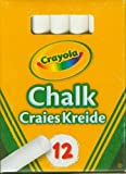 Enlarge toy image: Crayola - Anti Dust White Chalk -  preschool activity for young kids